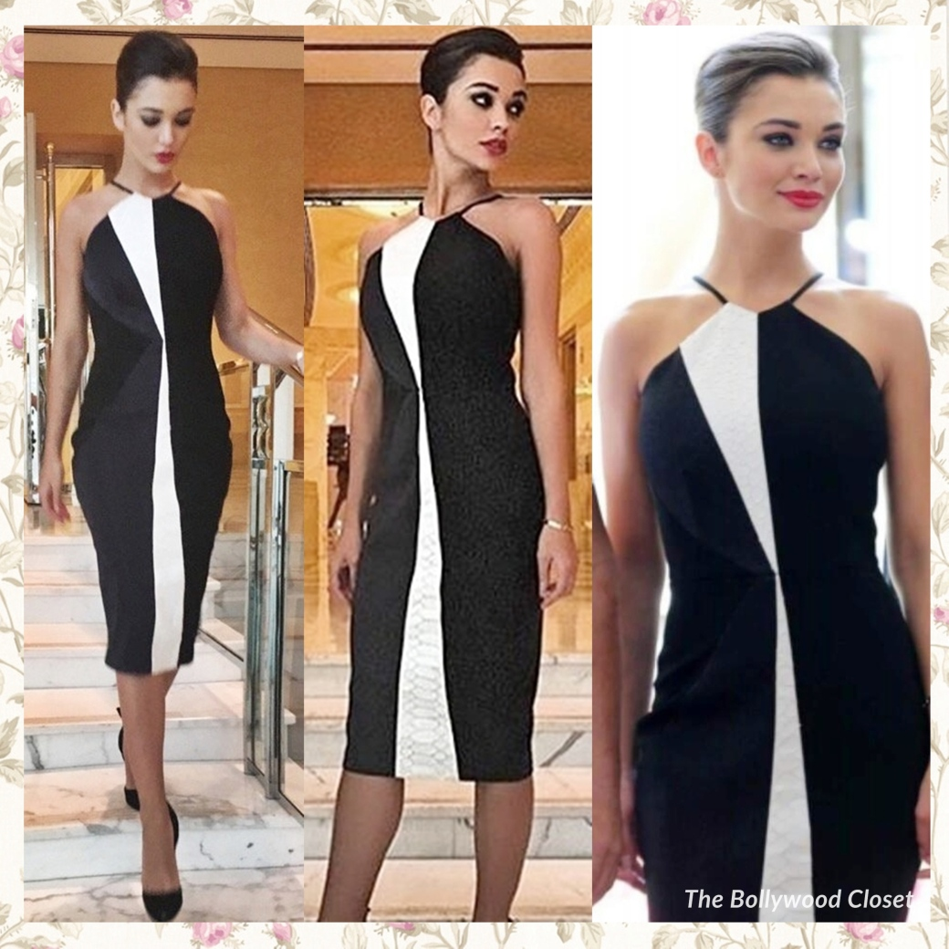 Amy Jackson in Alex Perry